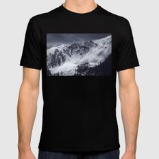Avalanche Black Mens Fitted Tee X-LARGE