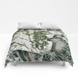 A Tint of Spring Colour. Comforters