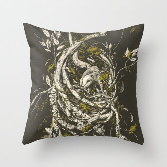 The Mangrove Tree Throw Pillow