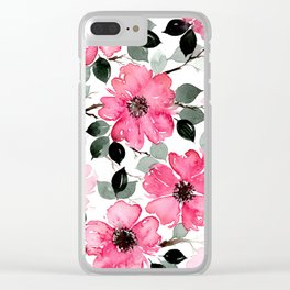 OLEANDER DREAMS Clear iPhone Case