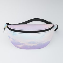 Unicorn Pastel Clouds #1 #decor #art #society6 Fanny Pack