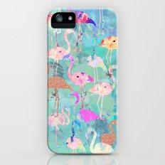 Flamingo Party  iPhone (5, 5s) Slim Case