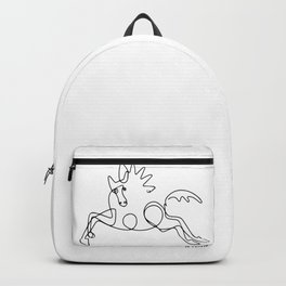Pablo Picasso Horse Artwork Shirt, Sketch Reproduction Backpack