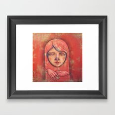 The Ghost in Pink Framed Art Print