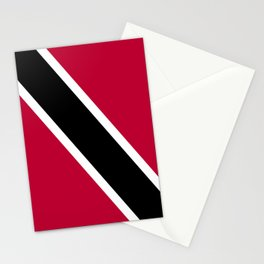 Trinidad and Tobago flag emblem Stationery Cards