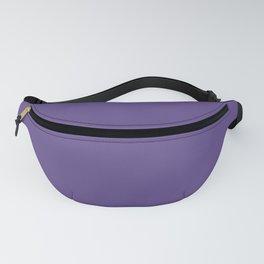 Pantone Ultra Violet 18-3838 Solid Color Fanny Pack