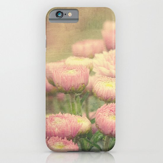 Pink Painterly Mums iPhone & iPod Case