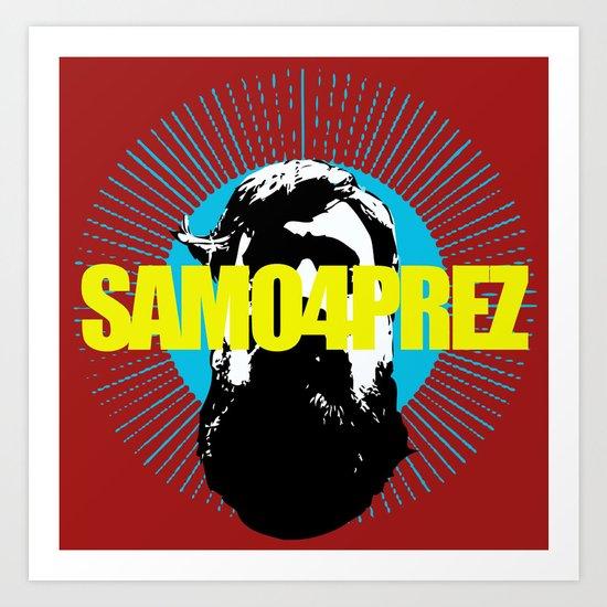 Logo Art Print