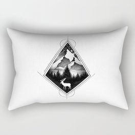 NORTHERN MOUNTAINS IV Rectangular Pillow