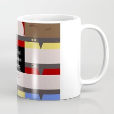 Maybe it's not the Destination that matters - Star Trek: Voyager VOY startrek trektangle minimalist Mug