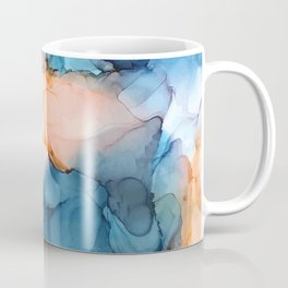 Captivate- Alcohol Ink Painting Coffee Mug