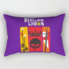 The Hollow Crown (Color Variant) Rectangular Pillow