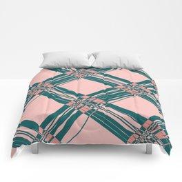 Pretty in Plaid #1 Comforters