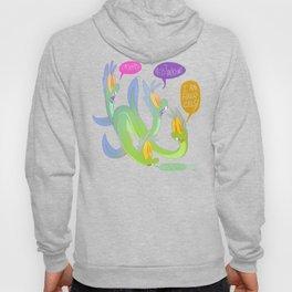 I Am Four Eels Hoody
