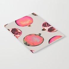 Pomegranate Pattern Notebook
