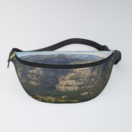 Yosemite Valley California by Reay of Light Fanny Pack
