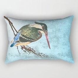Watching the river Rectangular Pillow