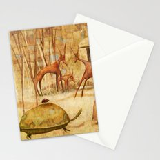 The Tortoise and the Beetle Stationery Cards