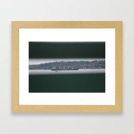 Bainbridge Ferry Framed Art Print