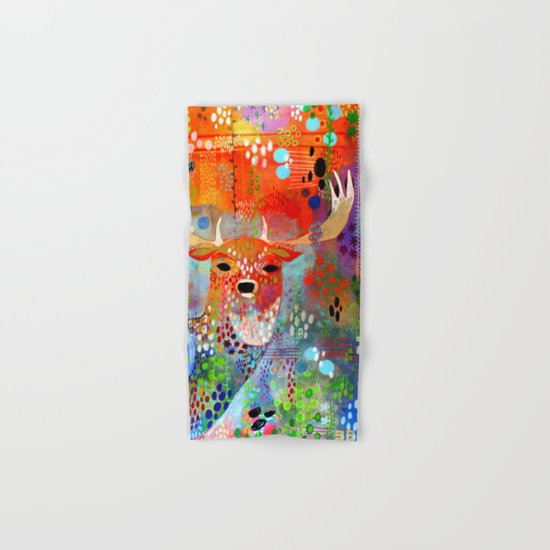 The Deer in the Thicket Hand & Bath Towel