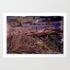 Centralia Outback, revisited Art Print