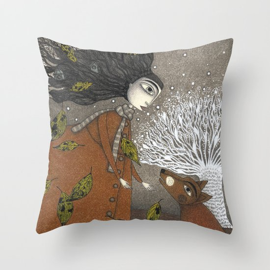 After Dusk Throw Pillow
