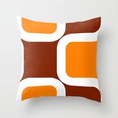 Retro Look Throw Pillow