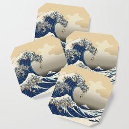 The Great Wave of Pugs Vanilla Sky Coaster