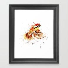 Sparrow Arrow Framed Art Print