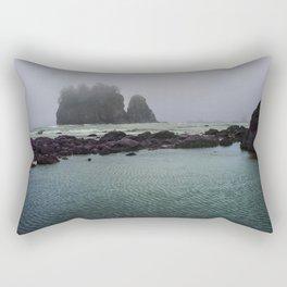 Mermaid Crossing Rectangular Pillow