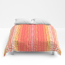 Peach Cobbler Comforters