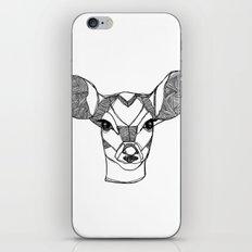 Monochrome Deer by Ashley Rose iPhone & iPod Skin