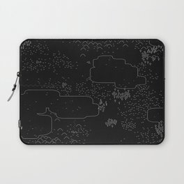 land of 15 towns and a cemetary · negative ⎌ Laptop Sleeve