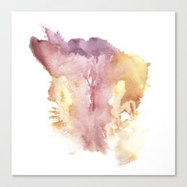 Verronica Kirei's Vulva Monotype Print Canvas Print