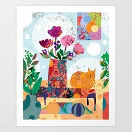 Big Cozy Art Print