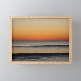 Waves in your Horizon Framed Mini Art Print