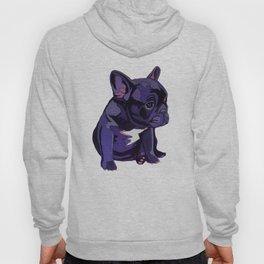 Purple French Bulldog Hoody