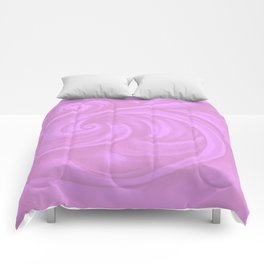 neon pink II Comforters