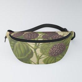 Botanical Blackberries Fanny Pack
