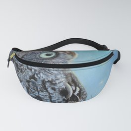 Owl and Lightning Bugs Fanny Pack
