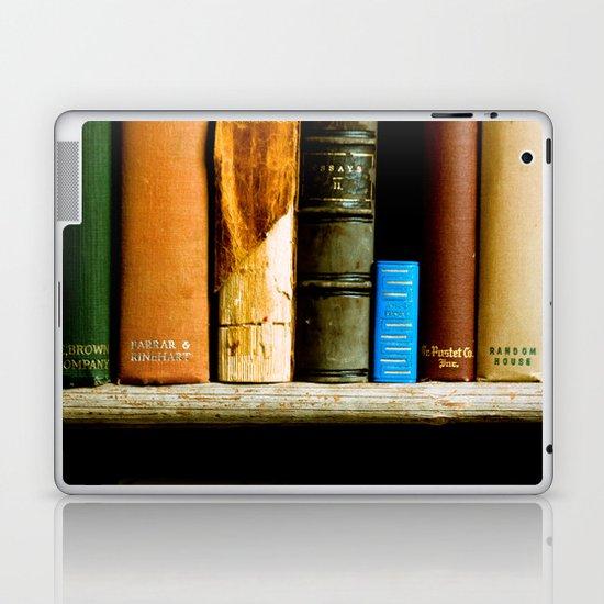 Vintage Books Laptop & iPad Skin