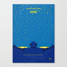 No777 My HYDE minimal movie poster Canvas Print
