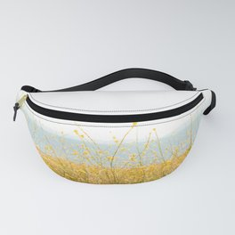 Nature Photography Wild Yellow Flowers I Fanny Pack