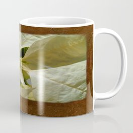 Pale Yellow Poinsettia 1 Blank P3F0 Coffee Mug