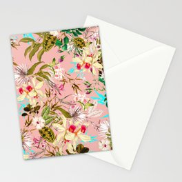 Gardenia #pattern #botanical Stationery Cards