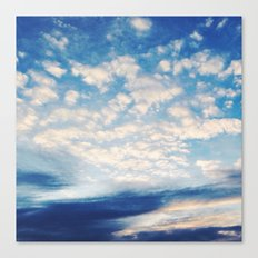 Sound of Clouds Canvas Print