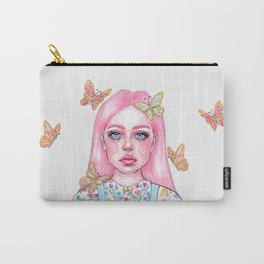 Little butterfly doll Carry-All Pouch