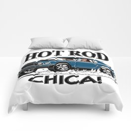 Hot Rod CHICA -1 Comforters