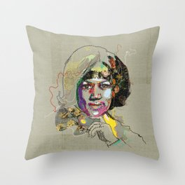 Aretha Franklin - Soul Sister | Soul Brother Throw Pillow
