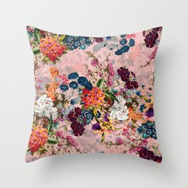 Summer Botanical Garden VIII - II Throw Pillow
